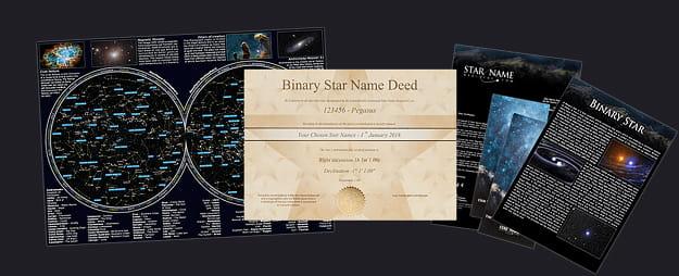 Estrella Binaria(por correo electrónico) Package