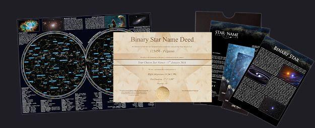 Estrella Binaria (por correo electrónico) Package