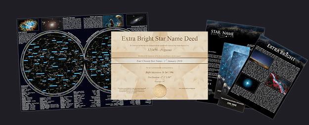 Estrella Extra Brillante(por correo electrónico) Package